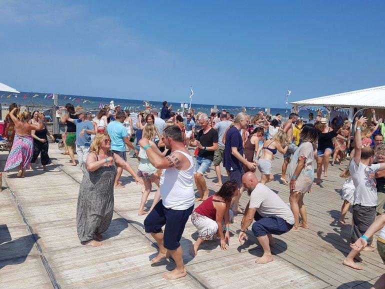 Foto's van ons strandfestival in Scheveningen
